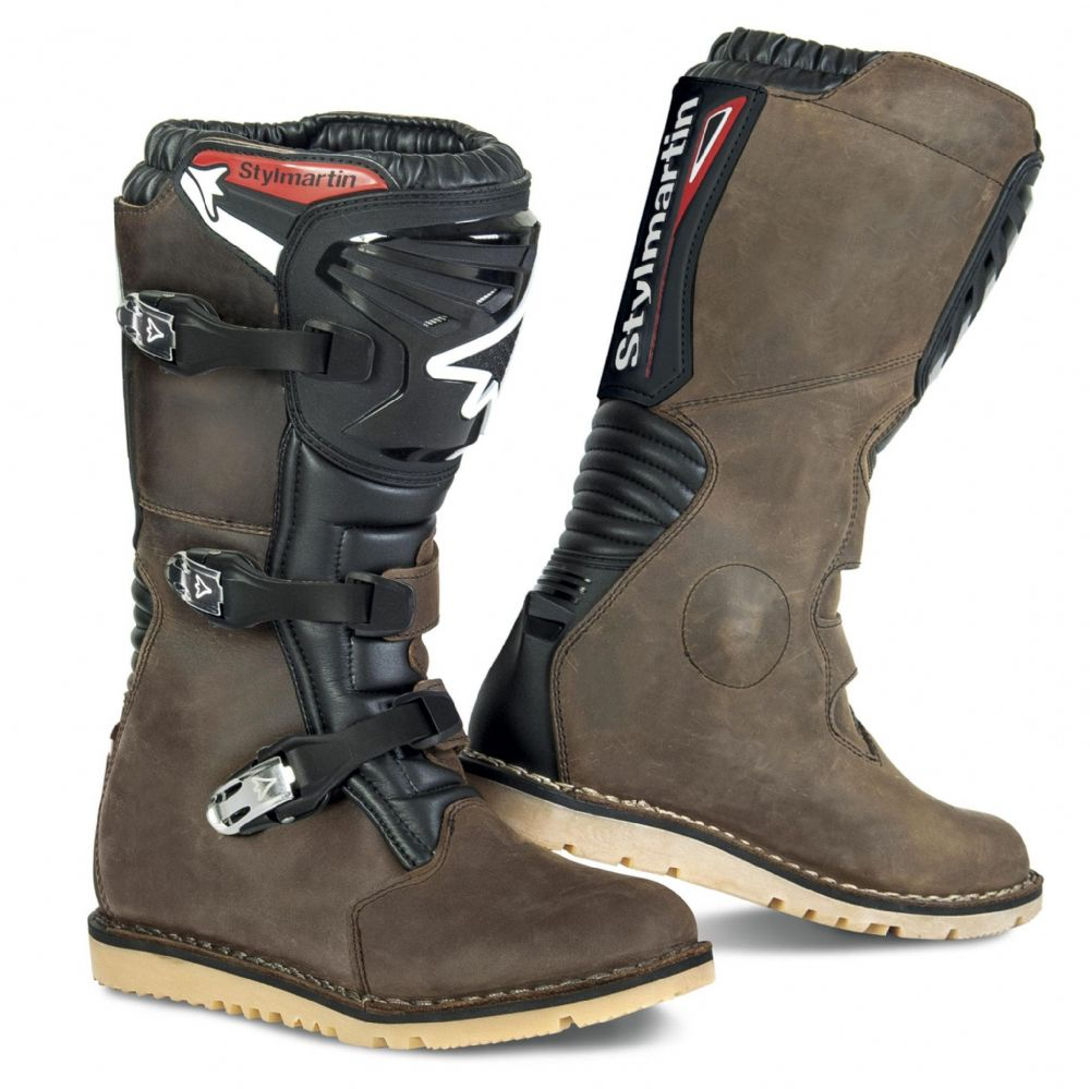 Stylmartin Impact RS Trials Boots Nabuck